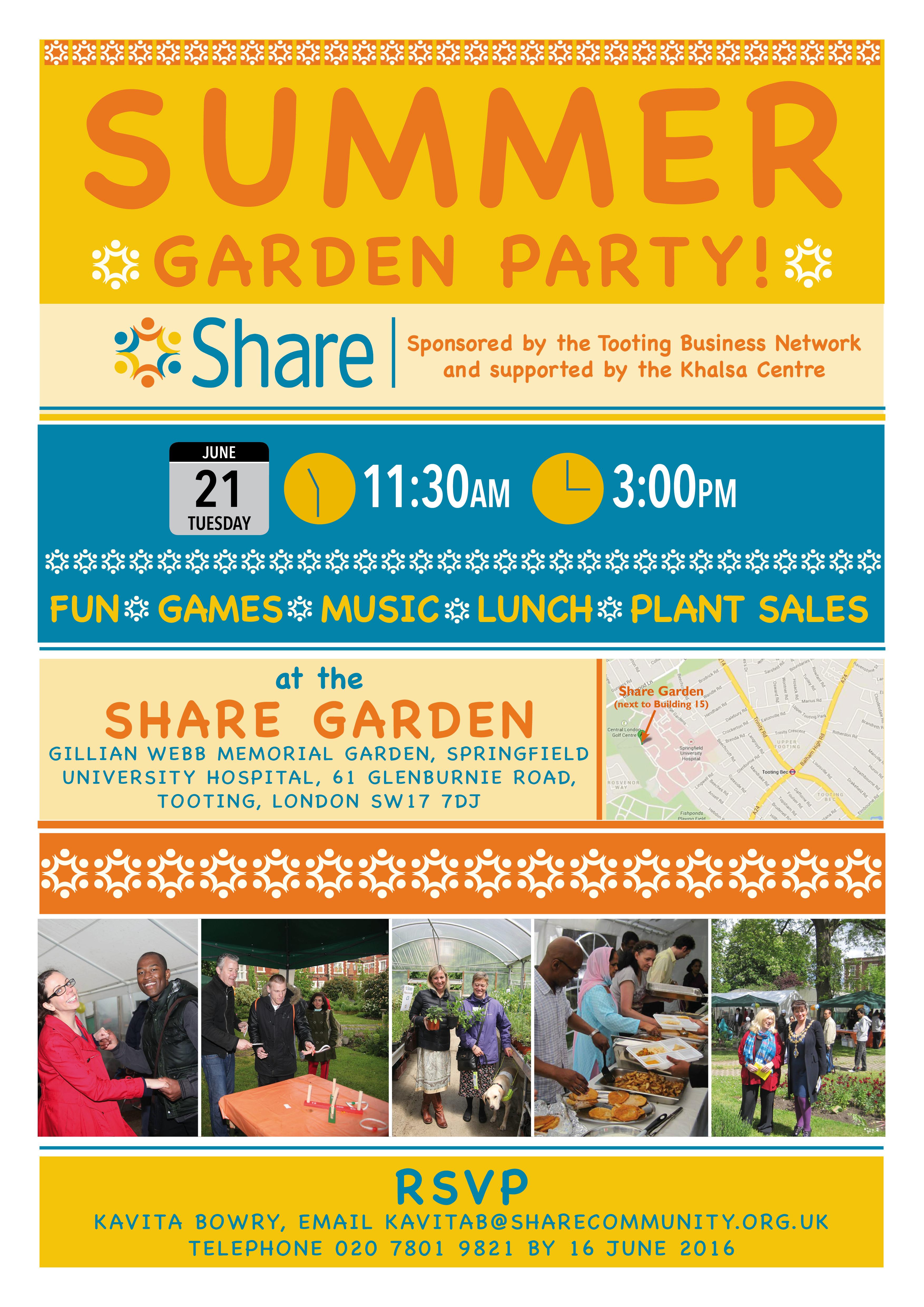 Share Summer Garden Party