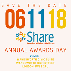 Share Annual Awards 2018