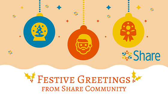 Season's greetings from everyone at Share