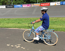 Cycling with Wheels for Wellbeing