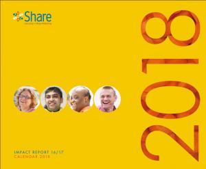 Share Community Impact Report and Recipe Calendar