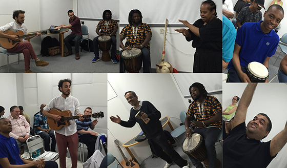 Live Music Now brings Afro Samba to Share