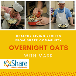 Overnight oats with Mark