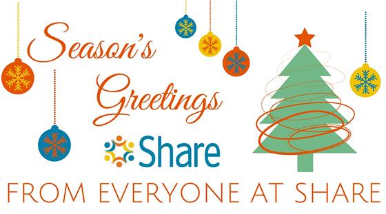 Season's Greetings from Everyone at Share