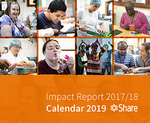 Share Impact Report 2017/18 Front Cover