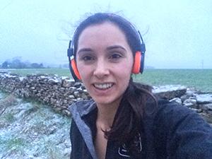 Selfie in the snow