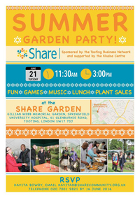 Share Summer Garden Party