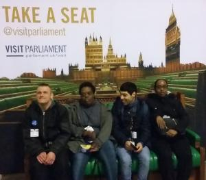 Share students visit Parliament