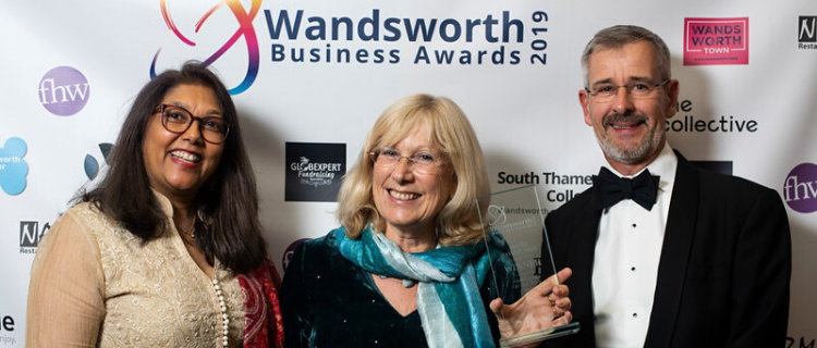 Share wins Employer of the Year at the Wandsworth Business Awards