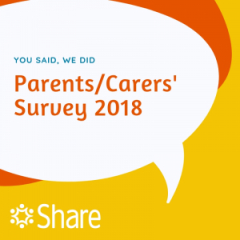 Share Parents and Carers Survey 2018
