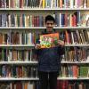 Ummair at the library