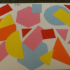 Artwork using coloured paper - like Matisse!
