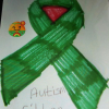 A ribbon from Roxy to celebrate World Autism Awareness week