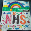 What a colourful dedication to the NHS!