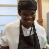 Shaun in the kitchen