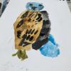 Bird in watercolour by Georgia