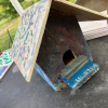 creating bird houses