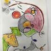 Miro inspired art