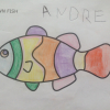 Andre has illustrated the rainbow fish