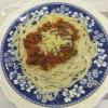 Alastair's spaghetti bolognese