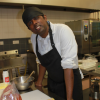 Thanush in the Share kitchen