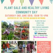 Plant Sale and healthy living community day 2018