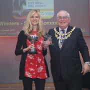 Share Community winning the Mayor's Award 2017