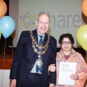 Yasmin at Awards
